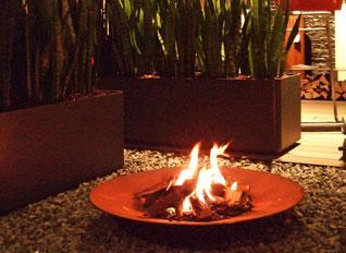 edel-Accessoires-Feuerschale