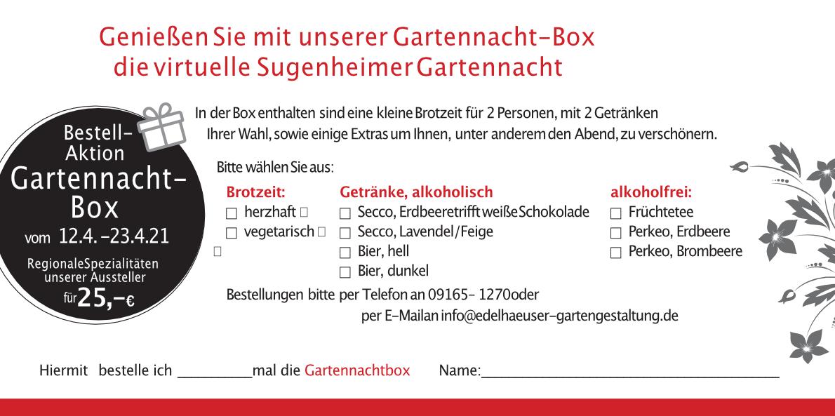 Gartennachtbox